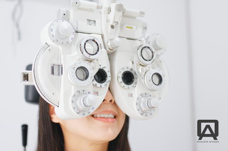 exame de optometria